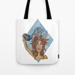 Let Your Imagination Grow Tote Bag