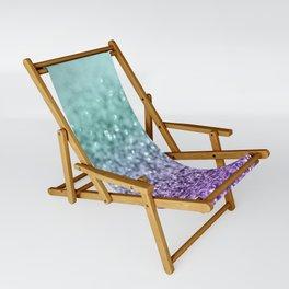 Mermaid Girls Glitter #9 #shiny #decor #art #society6 Sling Chair