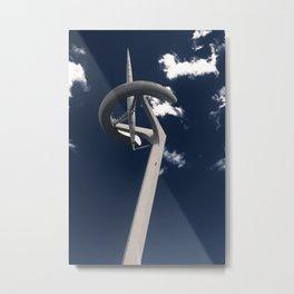 Torre Calatrava  Metal Print