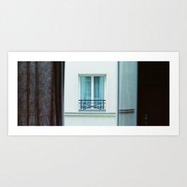Parisian Window Art Print