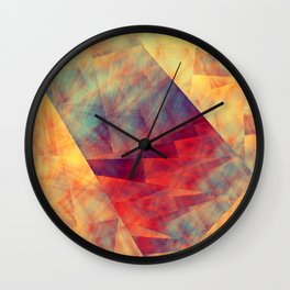 Chambered Stairs Wall Clock
