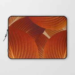 Leaves in Terracotta Color #decor #society6 #buyart Laptop Sleeve