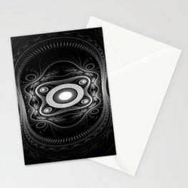 Ink pen steampunk art Stationery Cards