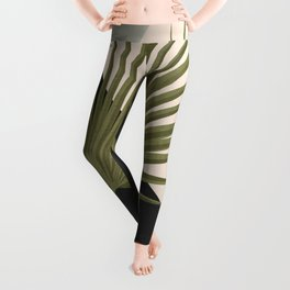 Tropical Leaf- Abstract Art 5 Leggings