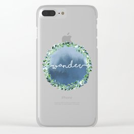 Wander beyond Clear iPhone Case