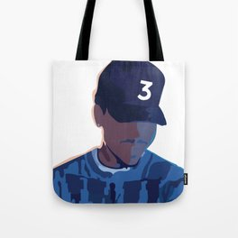 Coloring Book - Chance the Rapper Tote Bag