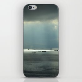Ships at sea in Istanbul iPhone Skin