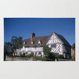 Mary Arden * 15th Century * England * 1950's * Vintage Photo * Travel Photography * Kodachrome Rug