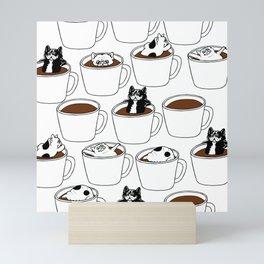 More Coffee French Bulldog Mini Art Print