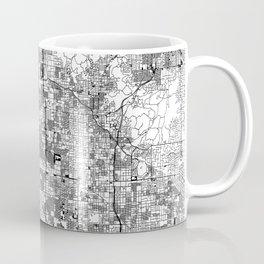 Phoenix White Map Coffee Mug
