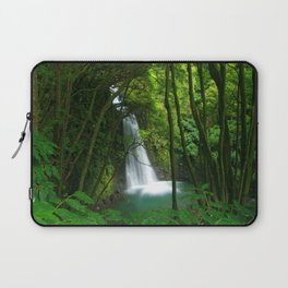 Waterfall in the Azores Laptop Sleeve