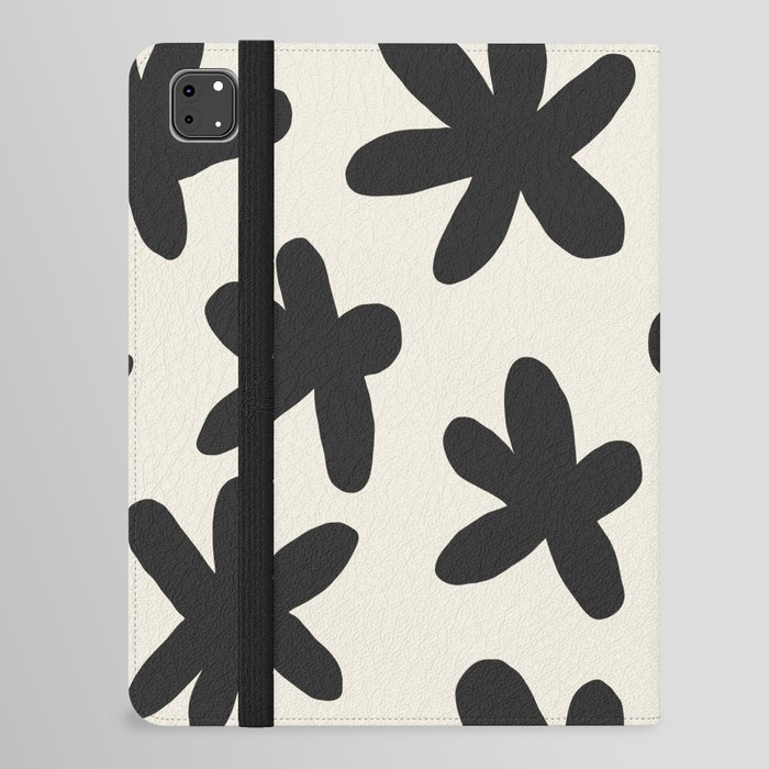 Flower Power Print iPad Folio Case