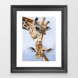 Love From Above Framed Art Print
