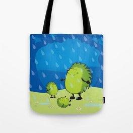 happy when it rains Tote Bag
