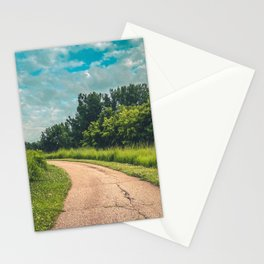 Walking Path Stationery Cards