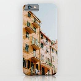 Italia - Cinqueterre - Riomaggiore iPhone Case