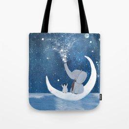 shooting stars Tote Bag