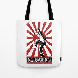 Damn Daniel-san Tote Bag