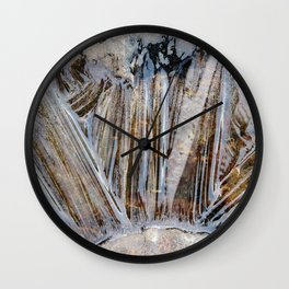 Ice rays Wall Clock