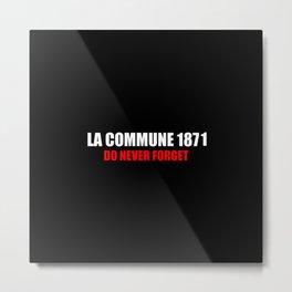 Commemoration La commune 1871 Metal Print