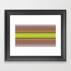 Just a mess Framed Art Print