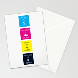 The Elements of Color Stationery Cards