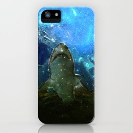 The Great White Marine Lava Lamp iPhone Case