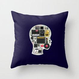 music memento Throw Pillow
