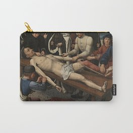 The Judgment of Cambyses Carry-All Pouch