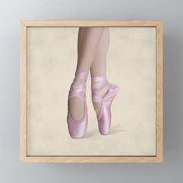 Ballerina Framed Mini Art Print