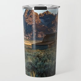 Wyoming - Moulton Barn and Grand Tetons Travel Mug