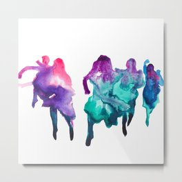 Run like a girl Metal Print