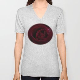 Velveteen Ruby Unisex V-Neck