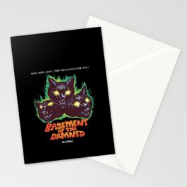 Basement Of The Damned Stationery Cards