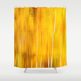 Autumn colors reflecting on the lake surface #decor #buyart #society6 Shower Curtain