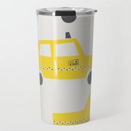 New York Taxicab Travel Mug