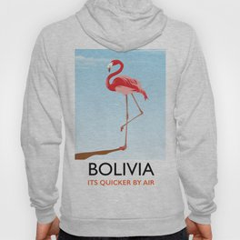 Bolivia Flamingo vacation print Hoody
