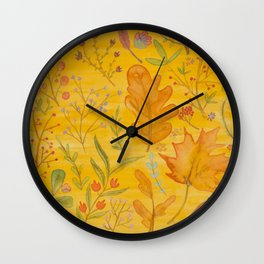 Autumn Blend Wall Clock