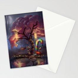 Candy Wonderland Tree Stationery Cards