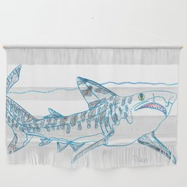 Tiger Shark II Wall Hanging