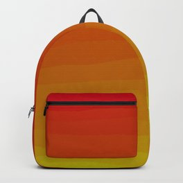 Warm Sunset Gradient Backpack