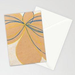 Hilma Af Klint The Seven Pointed Star Stationery Cards