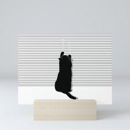 Cat Scratch Mini Art Print