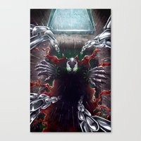 spawn Canvas Prints featuring Spawn by Art by JP