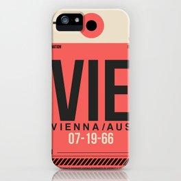 VIE Vienna Luggage Tag 1 iPhone Case