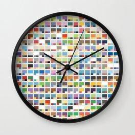 Complete Poke-Pantone  Wall Clock