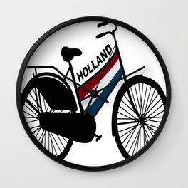Holland-Roadster-Bicycle Wall Clock