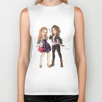 teen wolf Biker Tanks featuring Teen Wolf Ladies by Laia™