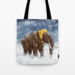 Babushka Mammoth Tote Bag