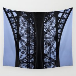 Eiffel Tower - Detail Wall Tapestry